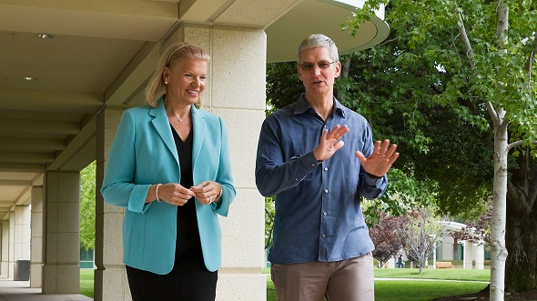 IBM and Apple join forces to push iPhone and iPad into the enterprise market