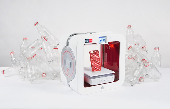 Coca-Cola and will.i.am collaborate on Ekocycle Cube Printer to Boost Innovative Recycling