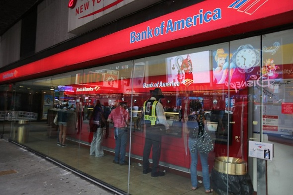Bank of America ATM Slots