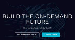 Uber Opens Its API