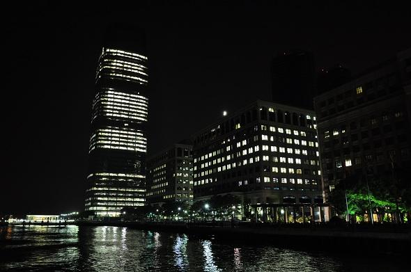 Goldman Sachs Tower at Night, JerseyCity