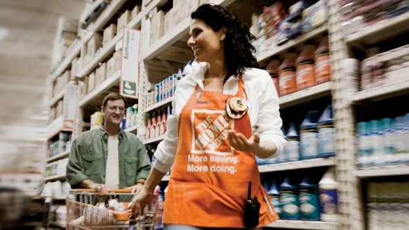 Home Depot's witnessed in a 6.4% rise in same-store sales, while the overall increase was 5.8%.