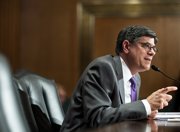 Treasury Secretary Jack Lew warns tax inversions are increasing at 'breakneck speed'