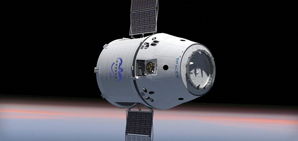 Dragon is a partially reusable spacecraft developed by SpaceX