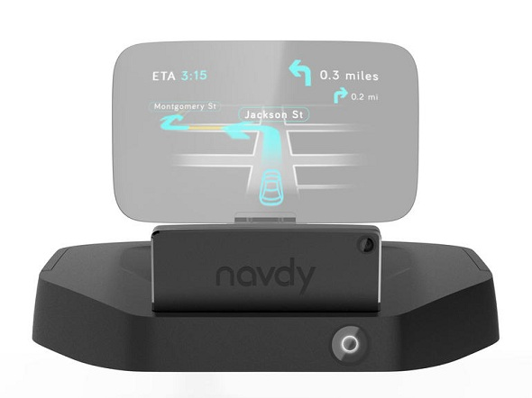 Navdy, A Futuristic Head-Up Display System To Make Driving Safer
