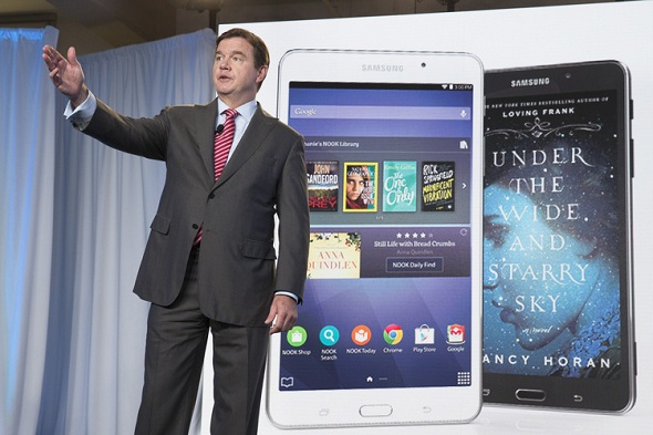 Samsung along with Barnes & Noble unveils Galaxy Tab 4 Nook