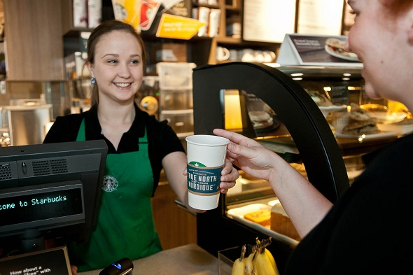 Starbucks Plans New 'Express' and Posh Store Designs