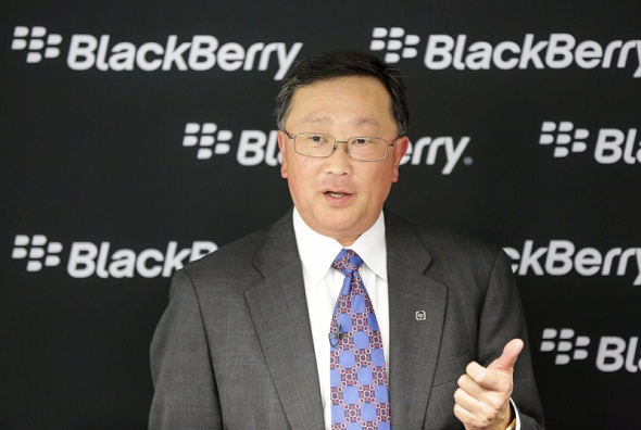 BlackBerry Posts a Narrow Quarterly Loss of $207 Million