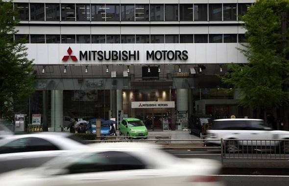 Mitsubishi Motors Corp. headquarters in Tokyo
