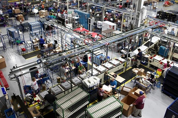 US Factory Orders Hit Record Highs in July