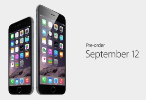 The smartphones will be available for pre-order on September 12 and will be going on sale on September 19