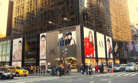 Amazon Inc. tills may soon start ringing on Fifth Avenue, NY