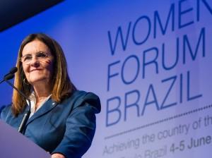 Maria das Gracas Silva Foster CEO of Petrobras-Petróleo Brasil.