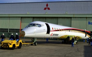 Japan Rolls Out First Passenger Jet in 50 Years