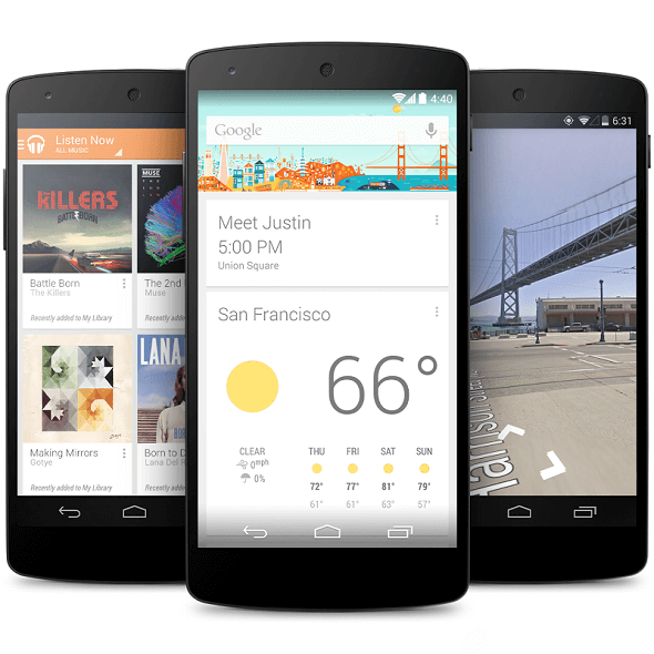 Google Nexus 6 with 5.9in High Resolution Display Launches October 2014