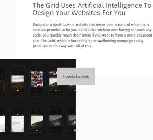 The Grid Screengrab
