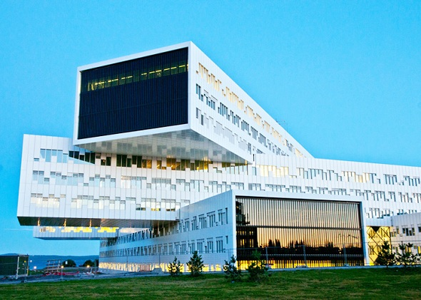 (Image: Statoil headquarters in Norway)