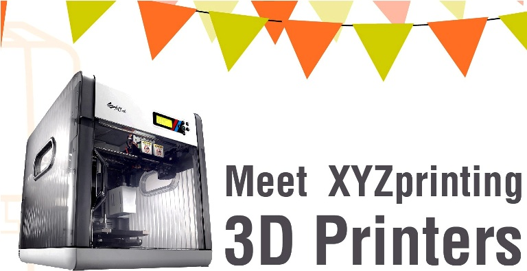 Taiwan's XYZprinting launches all-in-one 3D printer and scanner for just $799
