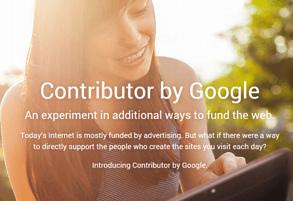 Google rolls out Contributor, a subscription service to remove ads from sites