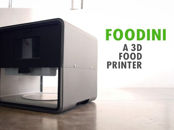 Natural Machines Launches Foodini, A 3D Printer That Prints Edible Food