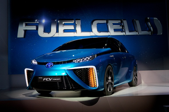 """Toyota Motor Corp Launches """"Mirai"""" Hydrogen Fuel Cell Vehicle, Plans Hydrogen Stations In Northeast"""
