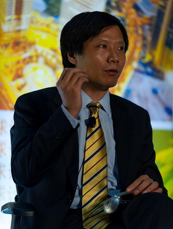 The numbers were announced by Xiaomi's CEO, Lei Jun (pictured) through Weibo