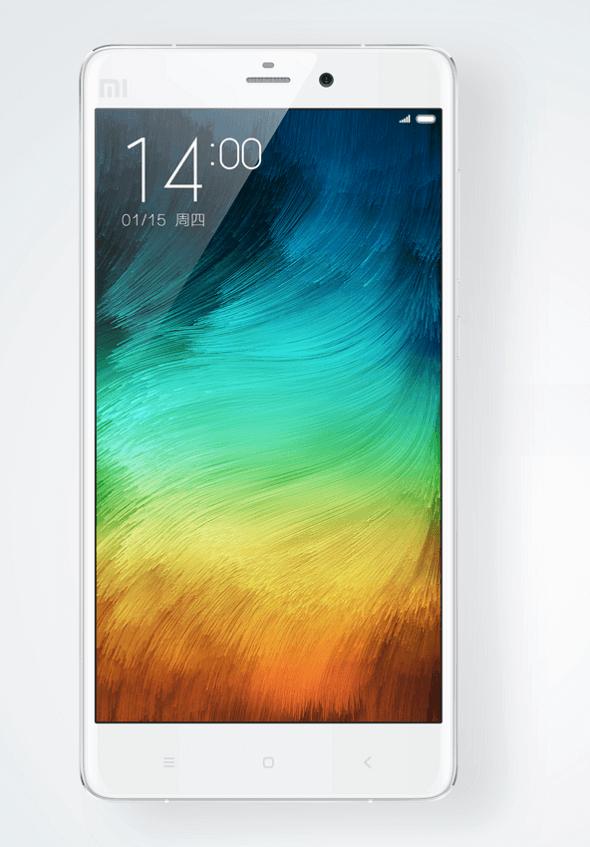Xiaomi unveils Mi Note to fight the iPhone 6 Plus