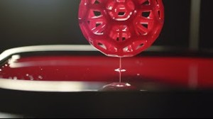 3D printing involves the use of jets to print an object one layer at a time from a stockpile of raw materials.