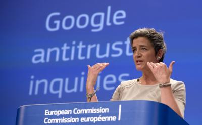European Union to record antitrust charges against Google