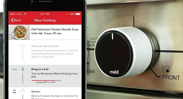 Meld Brings Smart Stove Technology That Can Control Temperature Automatically