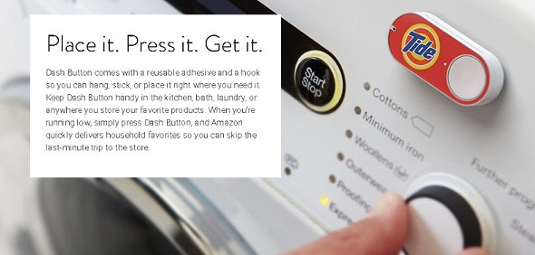 Amazon just unveiled Dash Button for instant product ordering