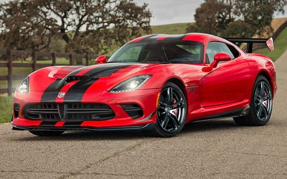 2016's New Dodge Viper ACR: The Fastest Street-Viper Sports Car