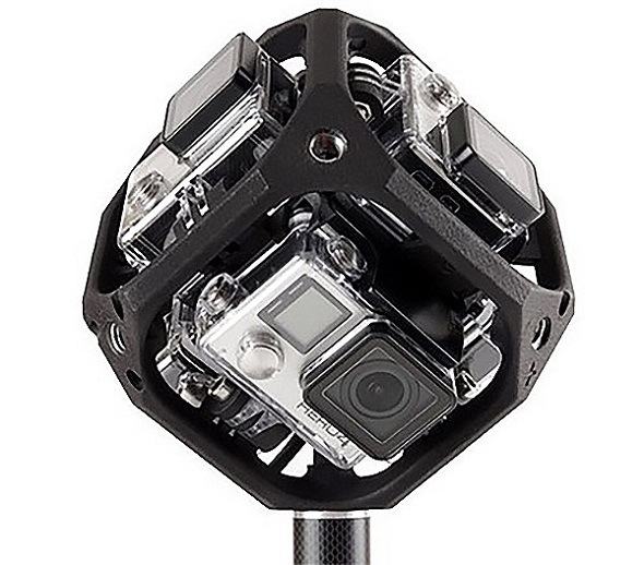 GoPro CEO Debuts a Spherical Camera Rig for Capturing VR Videos