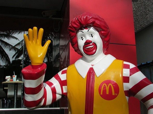 The sales have been particularly low in McDonald's home market.