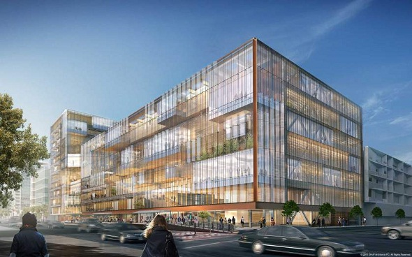 Uber Unveils Plans to Construct Giant Glass Headquarters in San Francisco