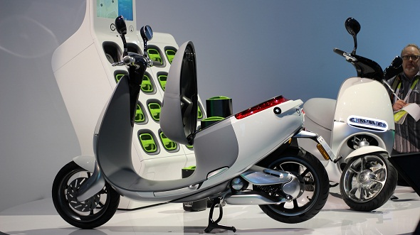 Gogoro debuts its new upcoming electric Smartscooters