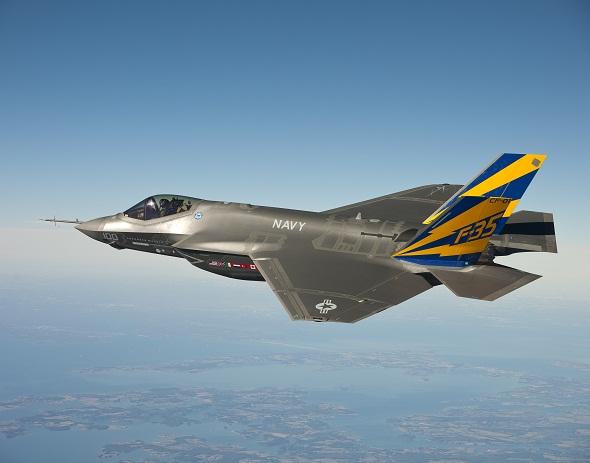 F-35 fighter jets