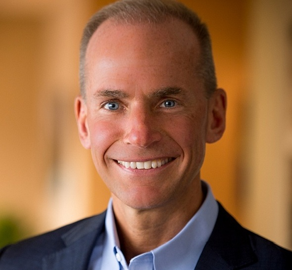 Boeing Named Dennis Muilenburg As Its New Ceo