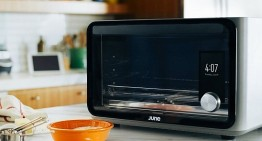 June's Smart Oven recognizes Food and Cooks Perfectly for You