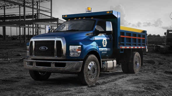 Ford assembles F-650 and F-750 trucks' production plant in Ohio