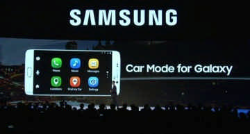 Samsung Car Mode App for Galaxy Phones Powered by MirrorLink Connectivity