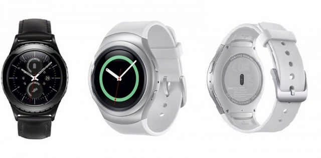 Samsung announces New Circular Gear S2 Smartwatch
