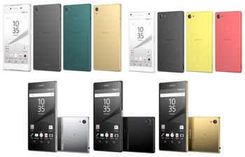 Xperia Z5 Series Smartphones: Xperia Z5 Compact and Xperia Z5 Premium
