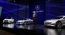 Mercedes-Benz Unveils Five New Redesigned Variants in Frankfurt