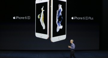 Apple Unveils iPhone 6S, iPhone 6S Plus Smartphones