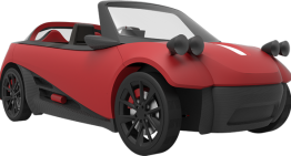 LM3D Swim, 3D Printed Car Model by Local Motors