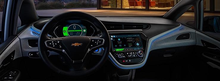 2017 Chevy Bolt EV dashboard