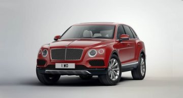 Humongous Bentley SUV to Become Eco-friendly in 2018