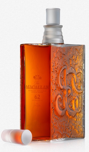 The Macallan Lalique most expensive whiskey
