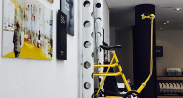 Pedal Your Way to Great Heights with the Vertical Bicycle Concept
